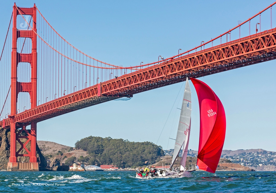 J/125 sailing Rolex Big Boat Series- San Francisco
